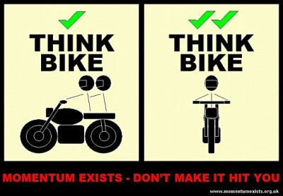 Posters Pending: Think Bike (green-ticks)