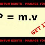 P = m.v  - (pending) 565